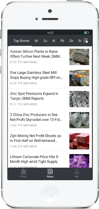 the demostrate of 'News' page in SMM APP